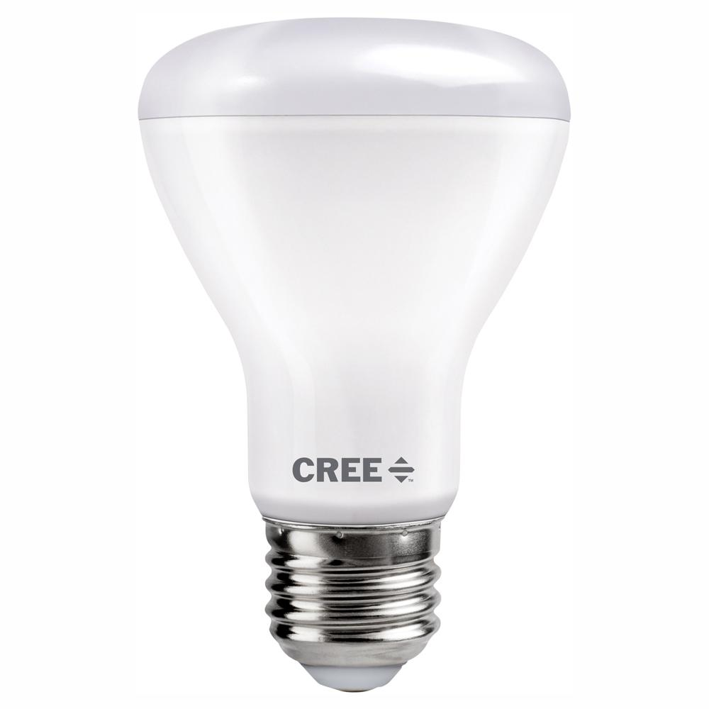Cree 50W Equivalent Soft White (2700K) R20 Dimmable Exceptional Light Quality LED Light Bulb
