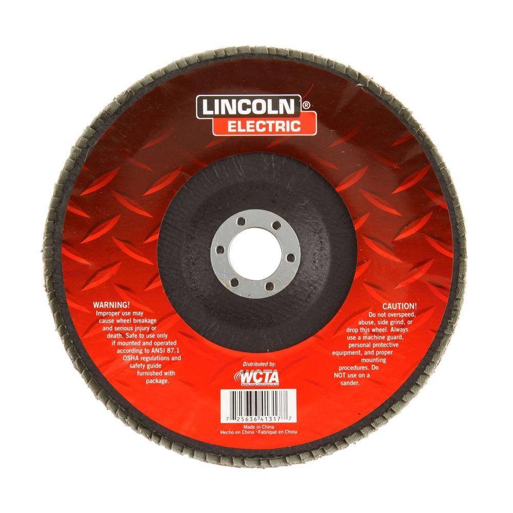 7 in. 36-Grit Flap 7/8 in. Arbor Disc