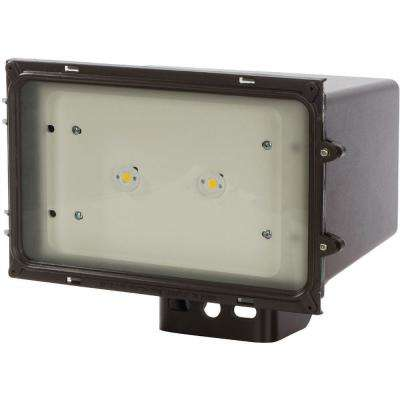 43-Watt Bronze Outdoor Integrated LED Area Light