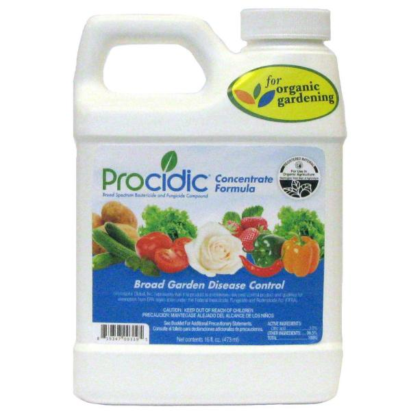 16 oz. Concentrate Bactericide and Fungicide