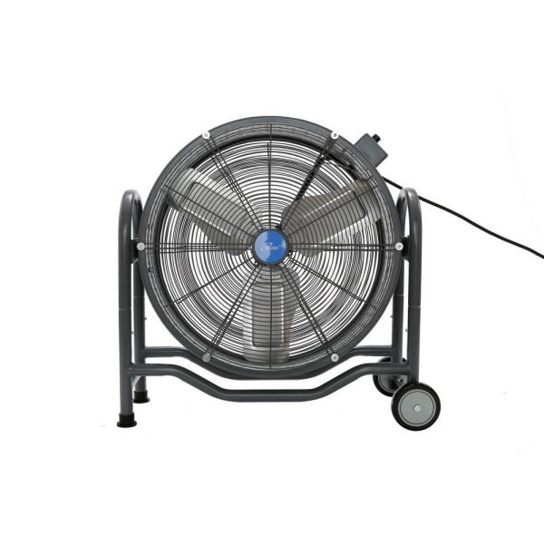 24 in. BLDC Air Circulator High Velocity Floor Fan, 115-Volt