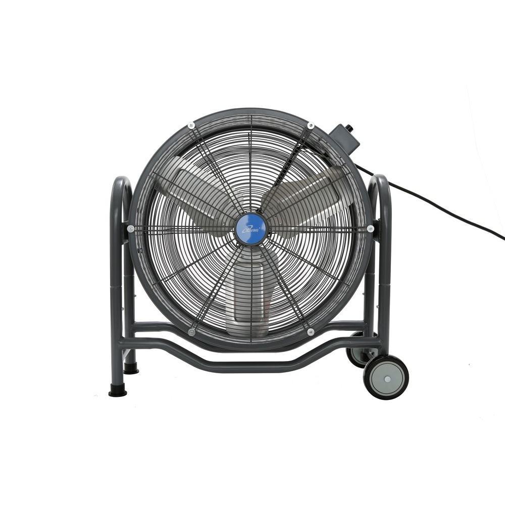 24 in. BLDC Air Circulator High Velocity Floor Fan, 115-Volt