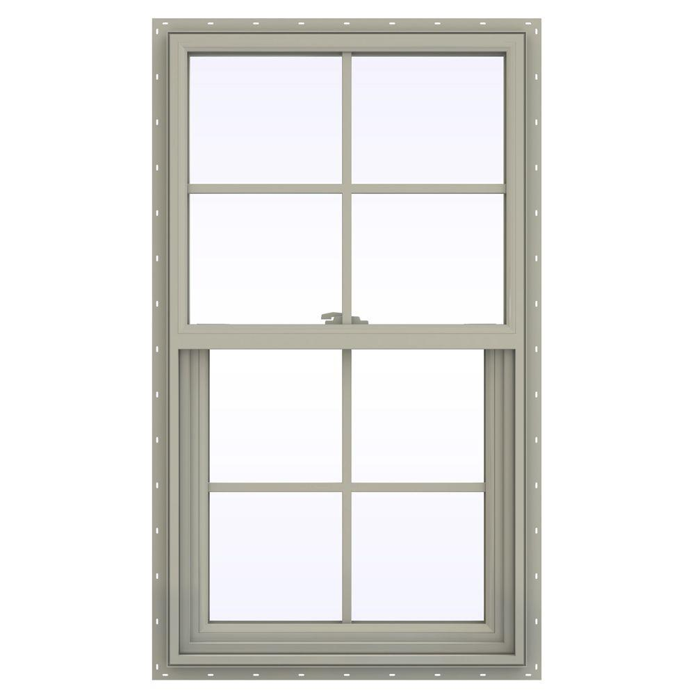 Jeld wen 23 5 in x 47 5 in v 2500 series single hung for Buy jeld wen windows online