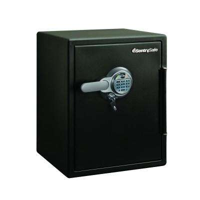 2.0 cu. ft. Steel Fire and Water Resistant with Fingerprint and Digital Lock Safe, Black