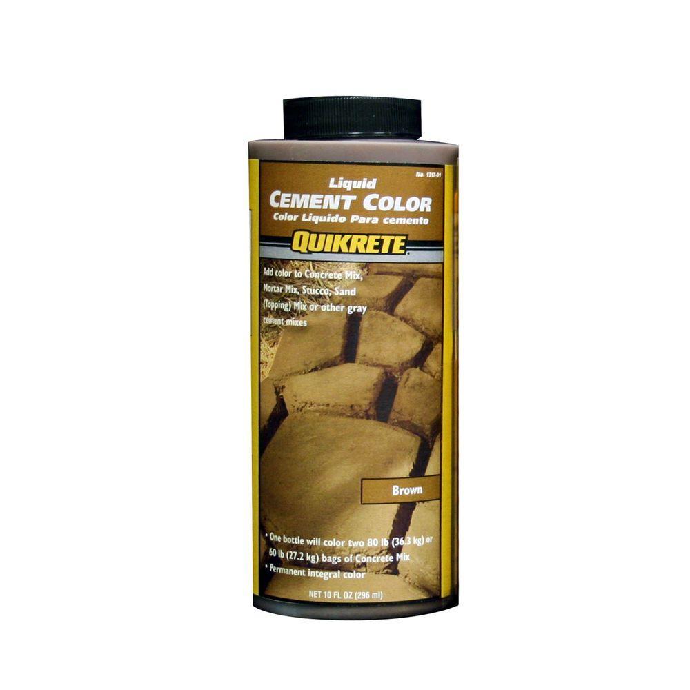 quikrete 10 oz liquid cement brown 131701 the home depot. Black Bedroom Furniture Sets. Home Design Ideas