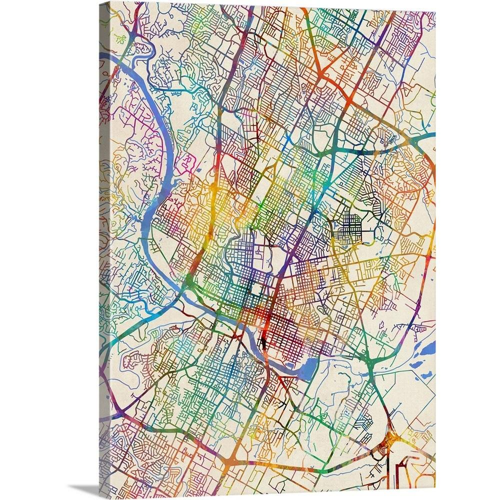 City Map Of Austin Tx on