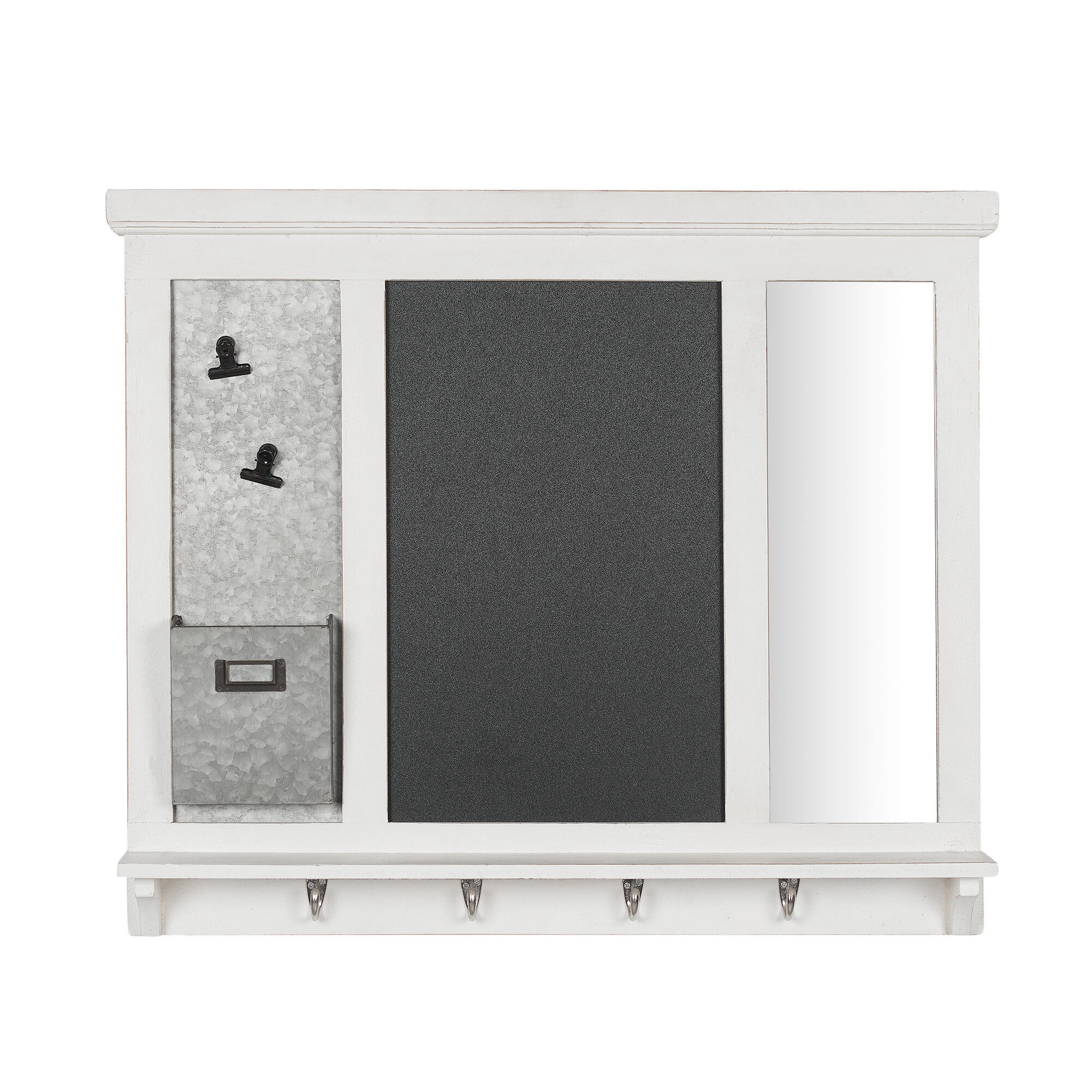 """Home Decorators Collection 26"""" X 31"""" Multi-Function Wall Organizer"""