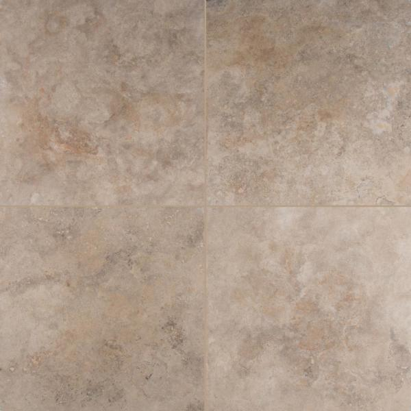 Msi Noche Premium 18 In X 18 In Honed Travertine Floor And Wall Tile 2 25 Sq Ft Case Ttnocpre1818 The Home Depot