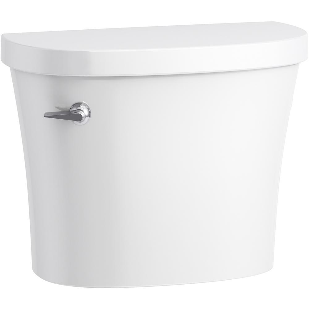KOHLER Kingston 1.28 GPF Single Flush Toilet Tank Only in White