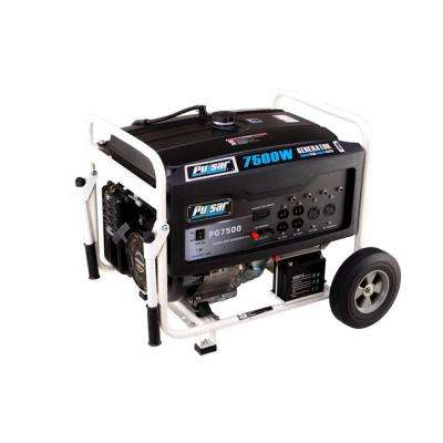 6000-Watt Gasoline Powered Electric Start Portable Generator with Ducar Engine