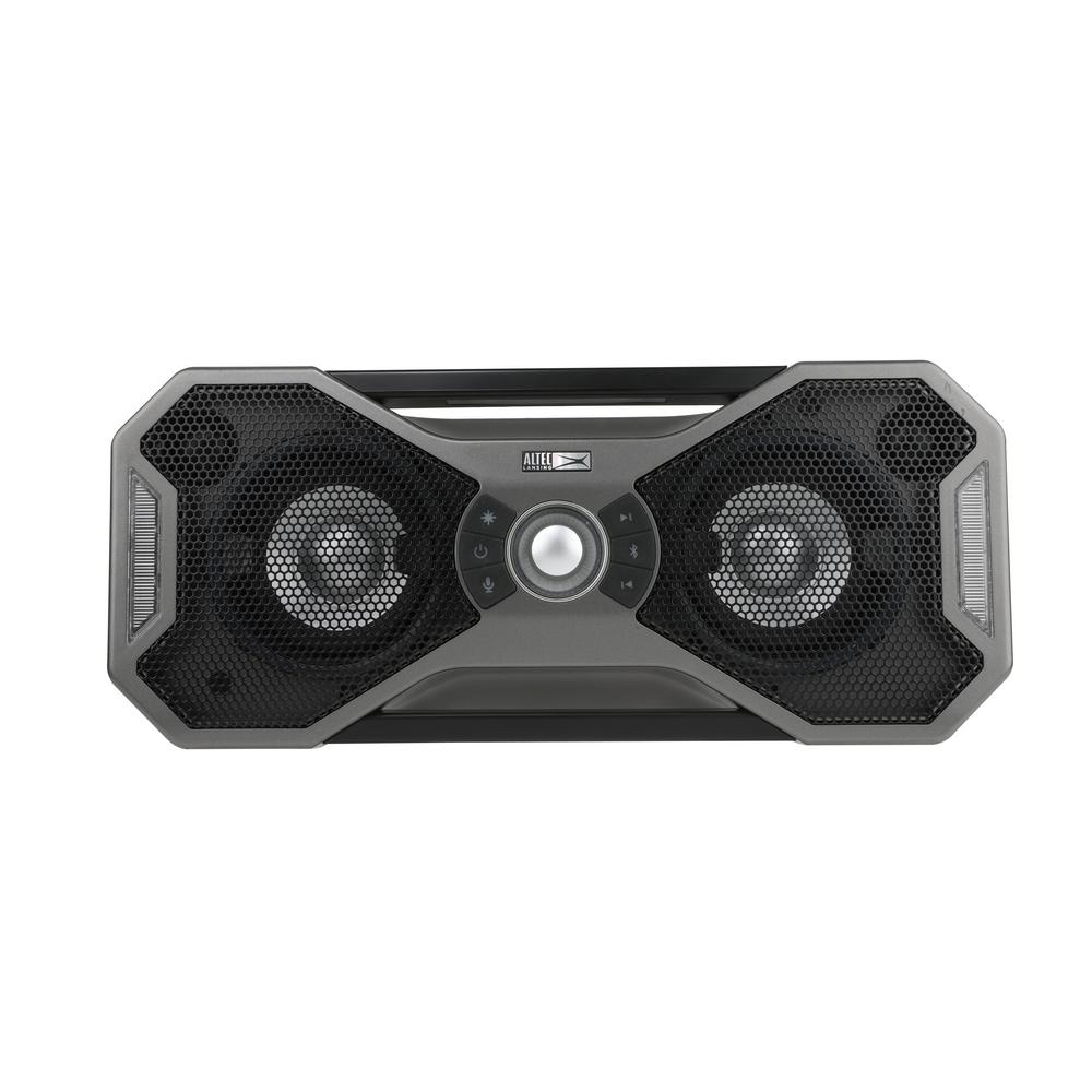 Altec Lansing Mix 110.10 Bluetooth Speaker - Metallic Gray-IMW10-STL - The  Home Depot