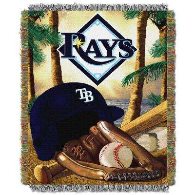 Rays Multi Color Home Field Advantage Tapestry Throw
