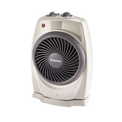 1500-Watt Pivoting Heater Fan with ViziHeat Display