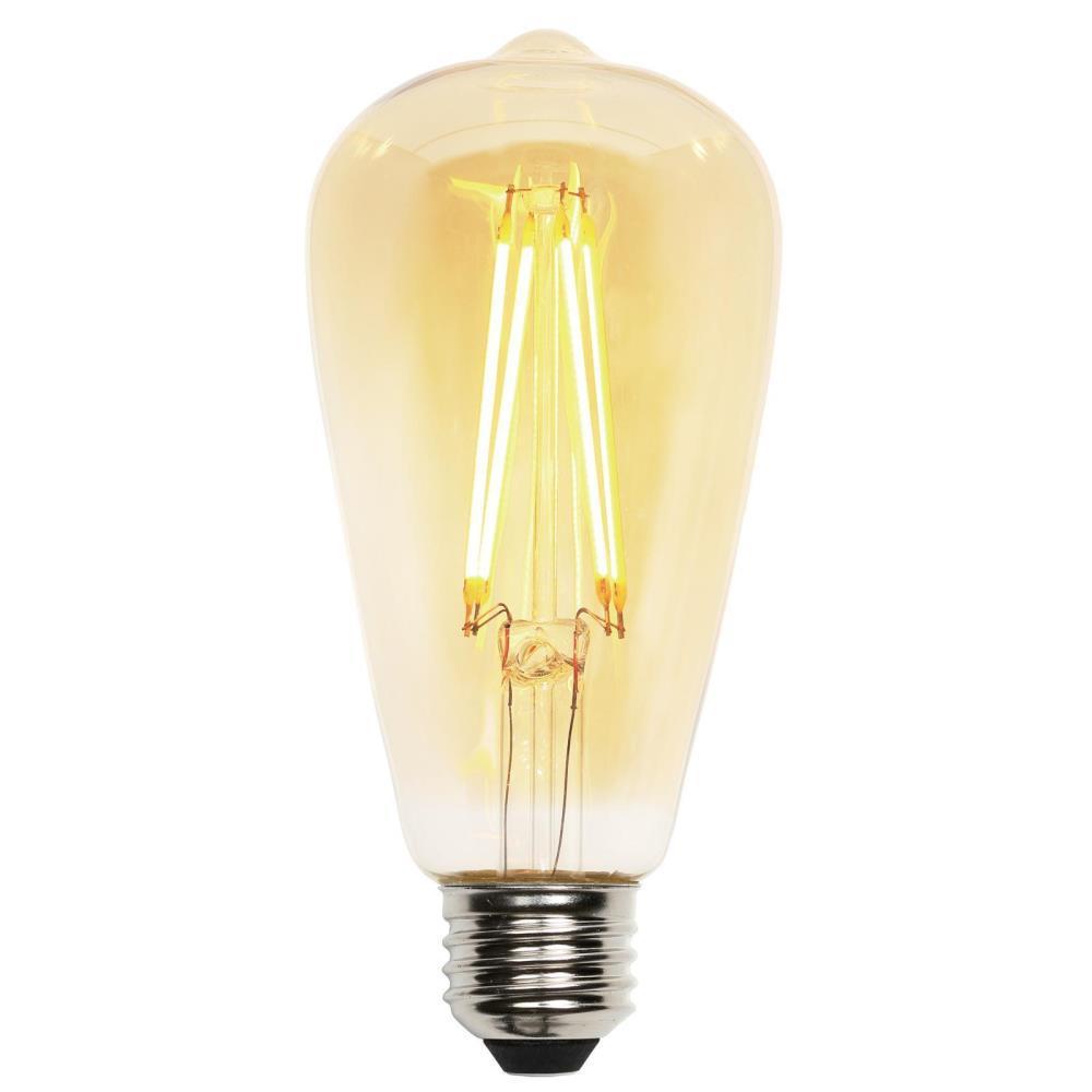 Westinghouse 40w Equivalent Soft White Ca11 Dimmable: Westinghouse 40W Equivalent Amber ST20 Dimmable Filament