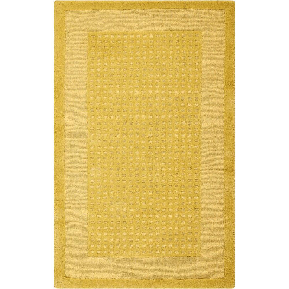 Nourison Westport Yellow 2 ft. 6 in. x 4 ft. Accent Rug