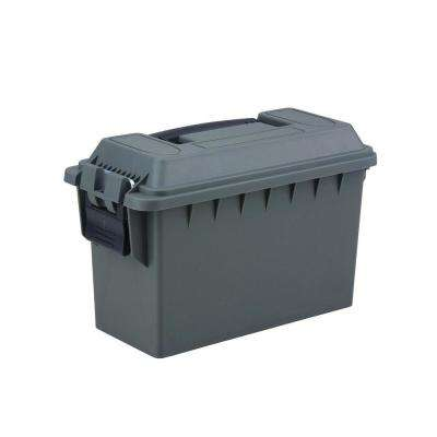 0.50 Cal Tactical Ammo Storage Box in O.D. Green