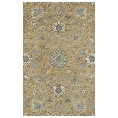 Helena Light Brown 8 ft. x 10 ft. Area Rug