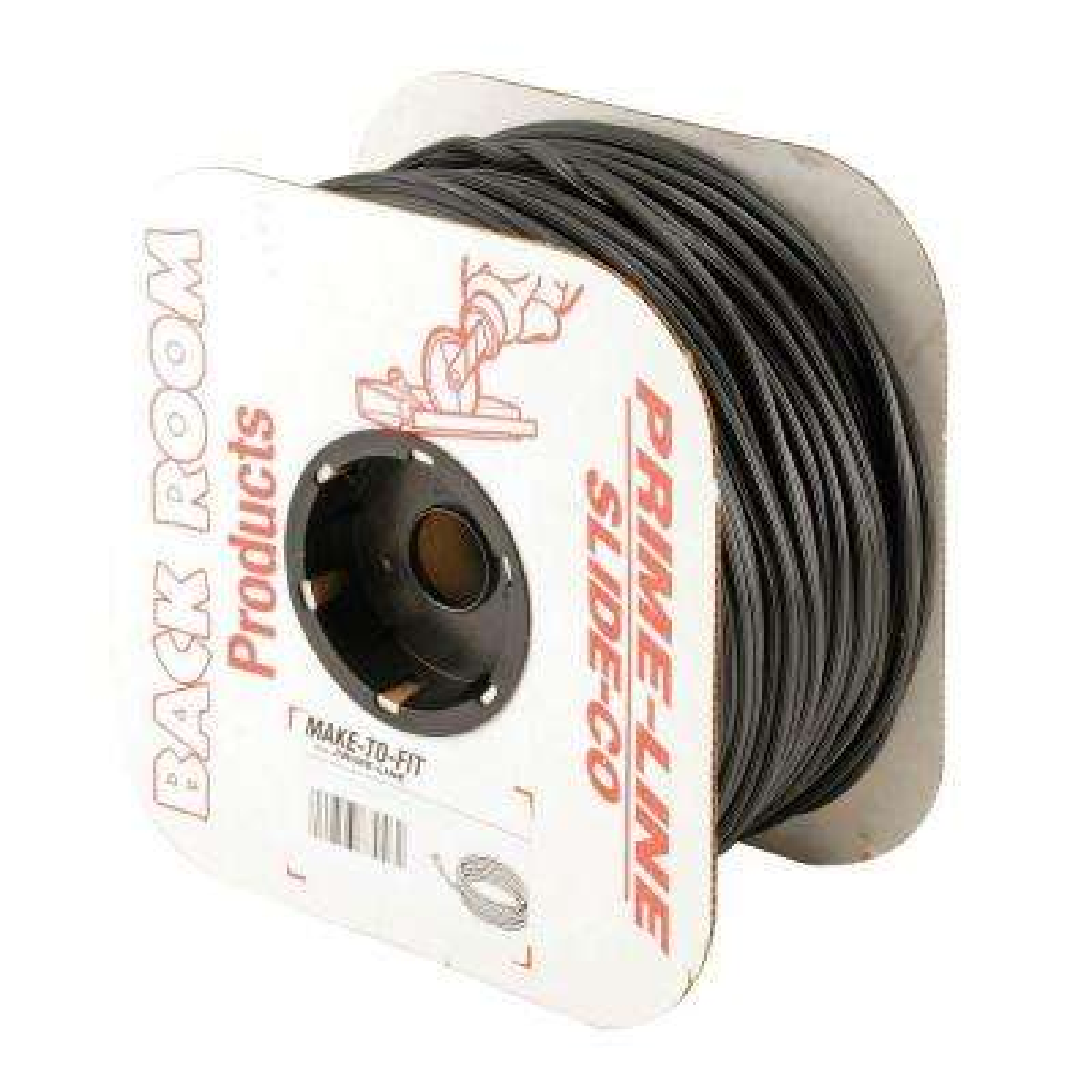 0.13 in. x 500 ft. Roll Black Spline