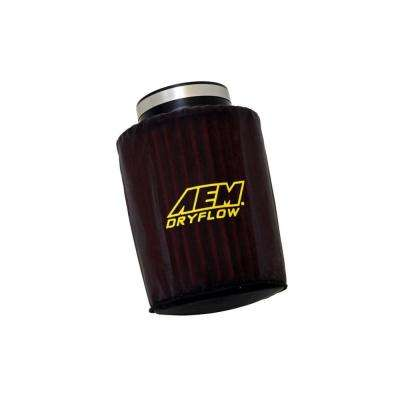 Air Filter Wrap 6 inch Base 5 1/8inch Top 7 1/8 inch Tall