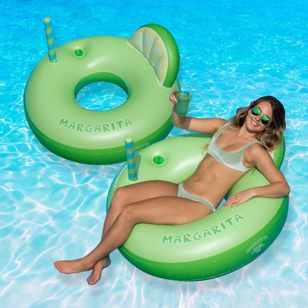 Margarita Ring Pool Float (2-Pack)