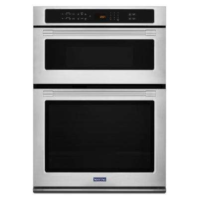 30 in. Electric Wall Oven with Built-In Microwave in Fingerprint Resistant Stainless Steel