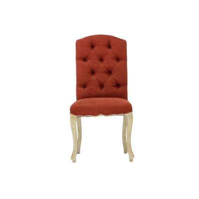 Wood Red Parsons Chair Dining Chairs Kitchen Dining Room