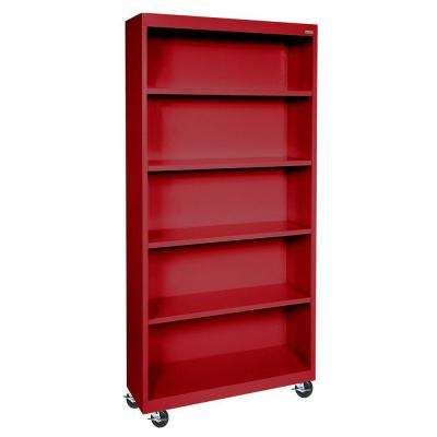 set of match bookcases co shelf ameriwood mix choice bookcase and red