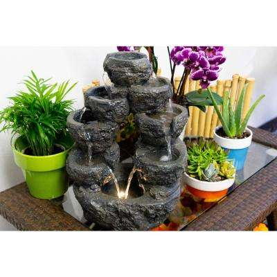 5-Tiered Cascading Fountain