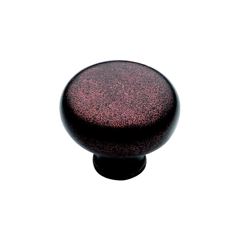 Blackrock 1-1/3 in. Oil Rubbed Bronze Cabinet Knob