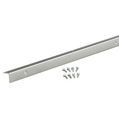 96 in. Decorative Aluminum Corner A772 for Outside in Polished
