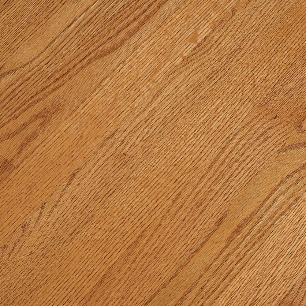 Bruce Take Home Sample Bayport Oak Butterscotch Solid Hardwood Flooring 5 In. X 7 In.