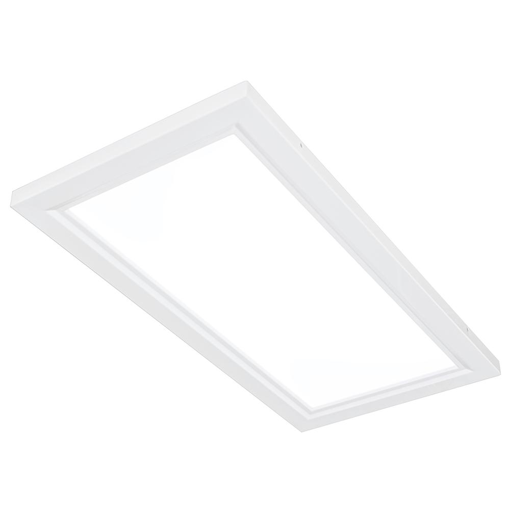 Qiaya 2 Ft X White Led Edge Lit Flat Panel Dimmable