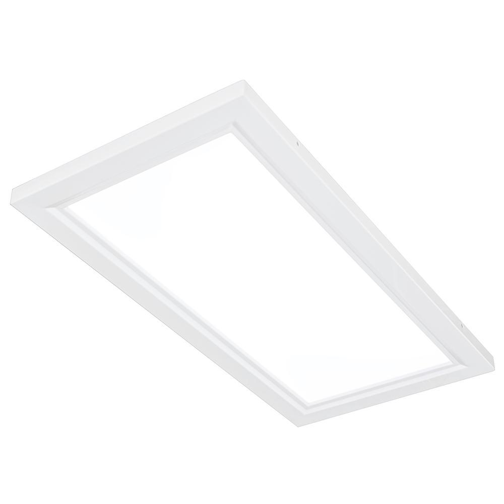 1 ft. x 2 ft. White Edge-Lit 30-Watt 6500K Integrated LED