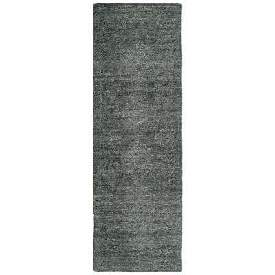 Palladian Charcoal 2 ft. 6 in. x 8 ft. Runner