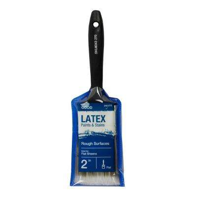 Good 2 in. Flat Cut Polyester Paint Brush