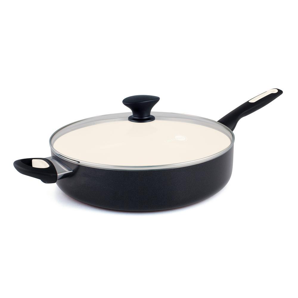 Greenpan Rio 5 Qt Ceramic Nonstick 2 Piece Cvd Saute Pan