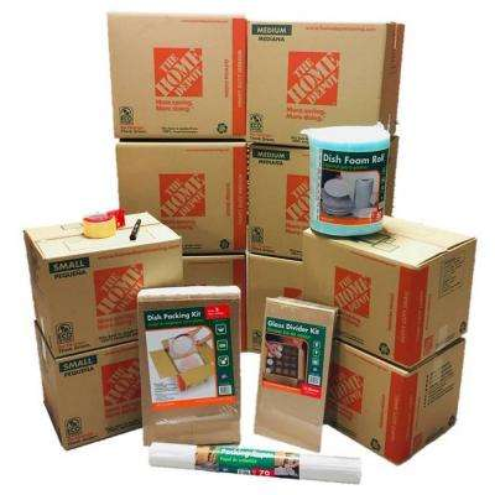10-Box Kitchen Moving Kit