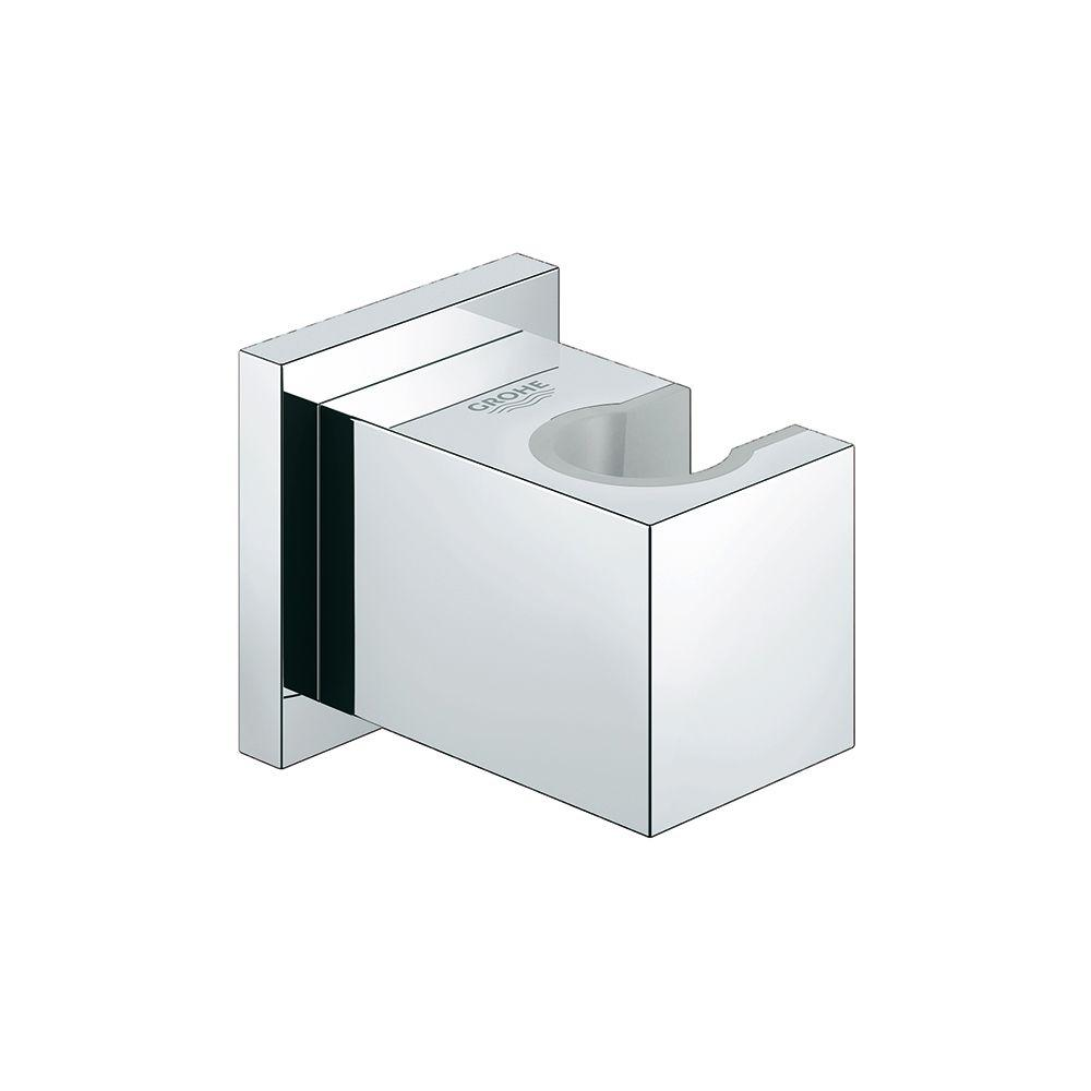 grohe euphoria cube wall mount hand shower holder in. Black Bedroom Furniture Sets. Home Design Ideas