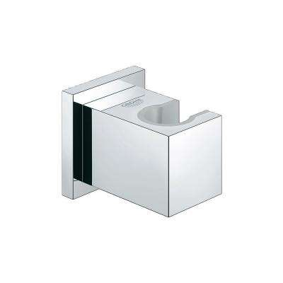 Euphoria Cube Wall Mount Hand Shower Holder in StarLight Chrome