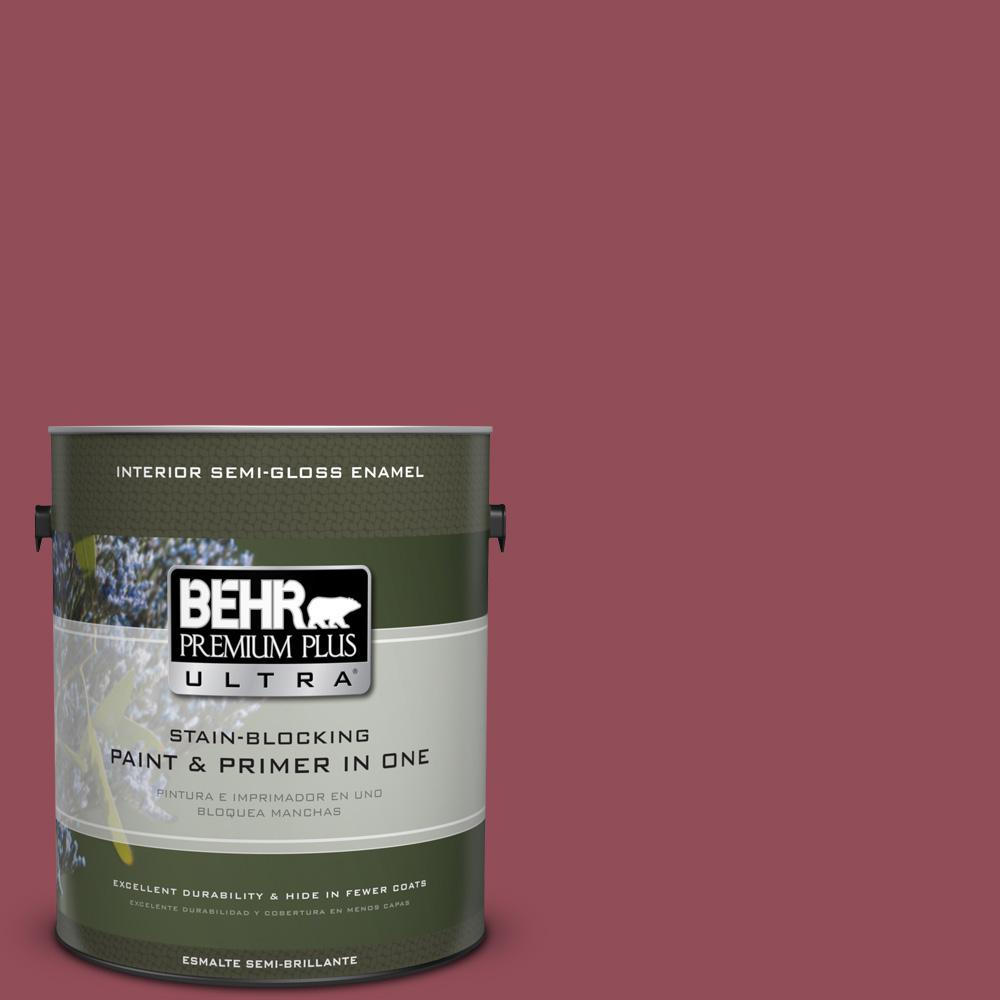 1 gal. #MQ1-5 Rialto Semi-Gloss Enamel Interior Paint and Primer in
