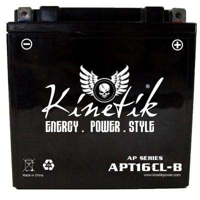 Sealed AGM 12-Volt 19 Ah Capacity D Terminal Battery