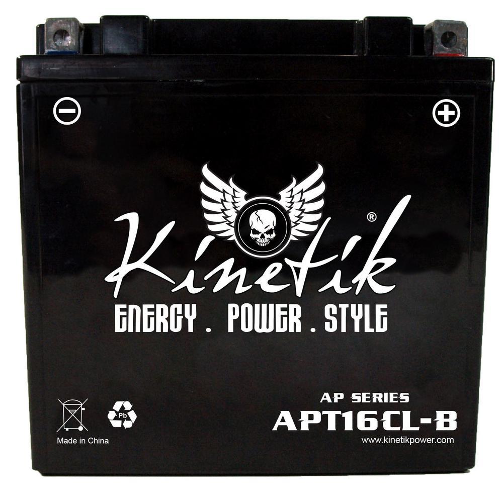 Sealed AGM 12-Volt 19 Ah Capacity D Terminal Battery
