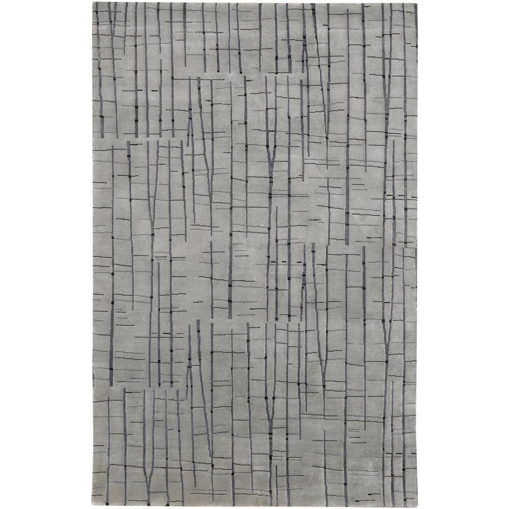 Julie Cohn Gray 9 ft. x 13 ft. Area Rug