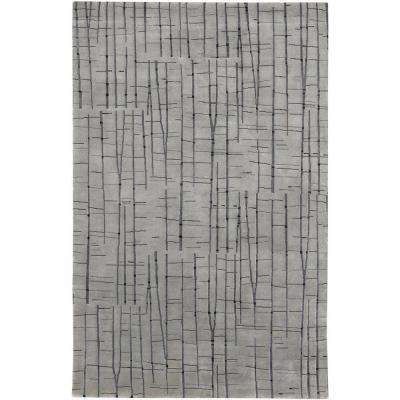 Asha Gray 9 ft. x 13 ft. Area Rug