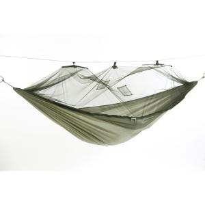 Byer of Maine 9 ft. 8 inch Parachute Nylon Hammock with Mosquito Net in Spruce Green by Byer of Maine