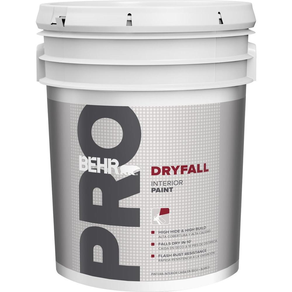 5 gal. White Dryfall Interior Paint