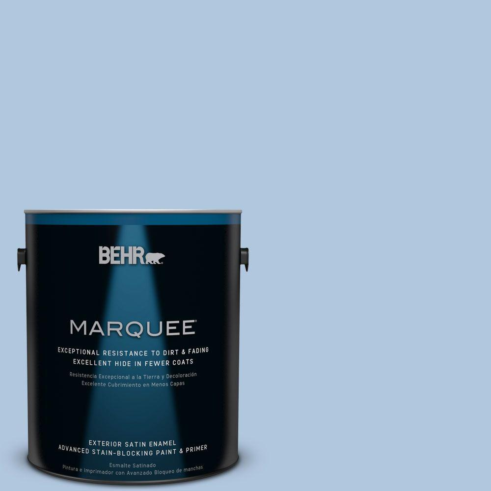 BEHR MARQUEE 1-gal. #M510-2 Life at Sea Satin Enamel Exterior Paint