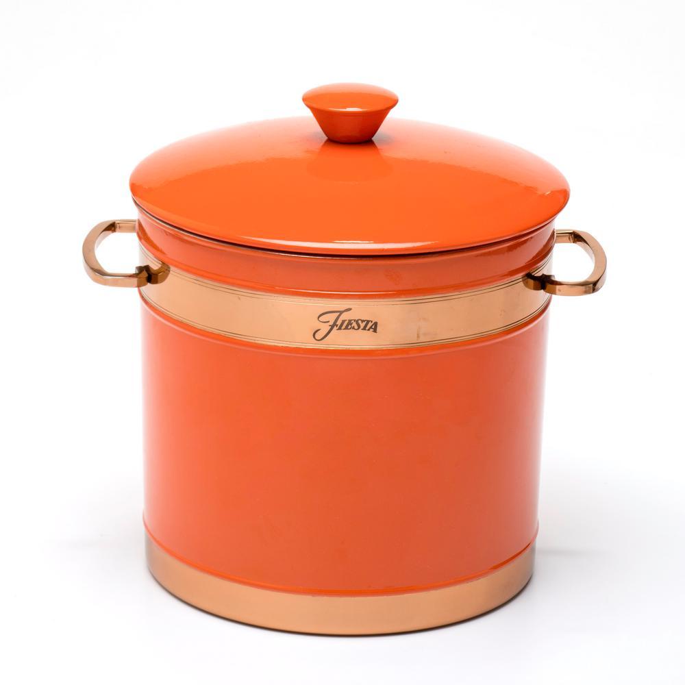 3 Qt. Poppy Stainless Steel Ice Bucket