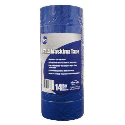 PT14 Pro Mask Blue 2.0 in. x 60 yds. Masking Tape (6-Pack)