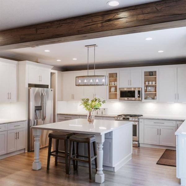 Ekena Millwork 10 In X 6 In X 20 Ft 3 Sided U Beam Hand Hewn Premium Aged Faux Wood Ceiling Beam Bmhh3c0060x100x240zd The Home Depot